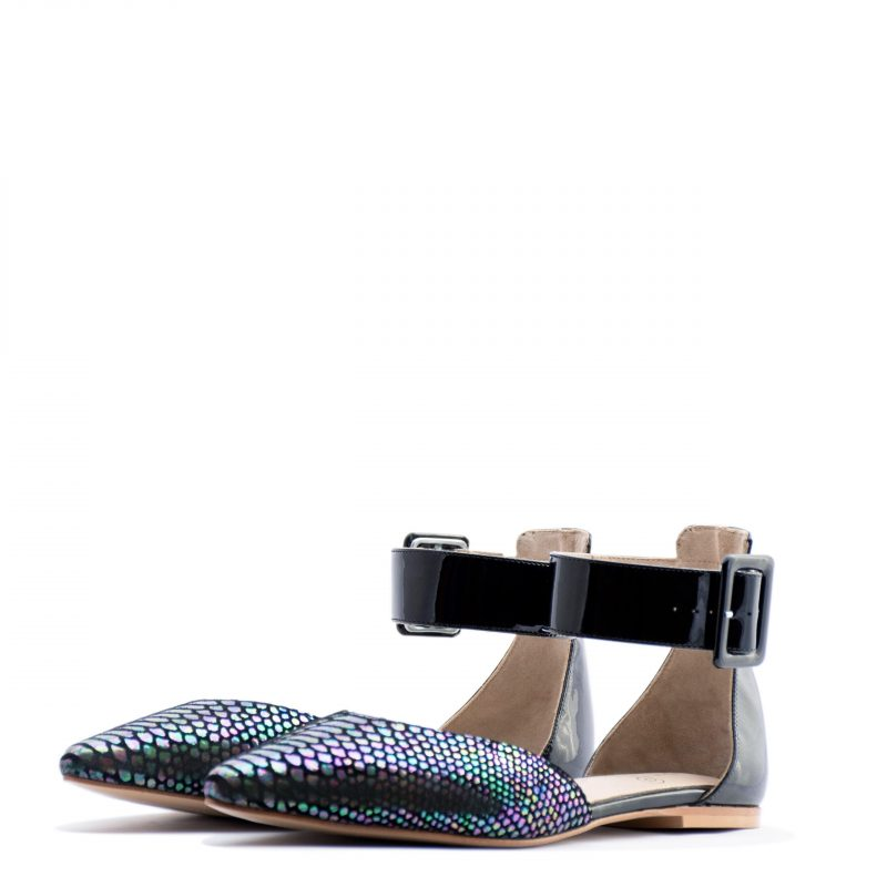 Animal print pointy-toe flat and heels for men & women