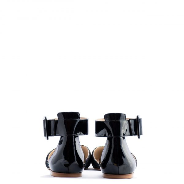 ankle strap ballerina flats heels for men and women