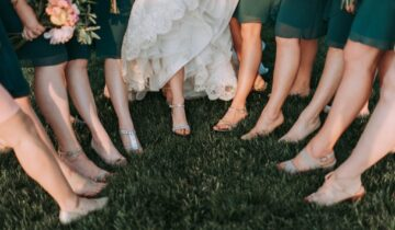 Bridesmaids' shoes: Find the perfect match, for everyone!