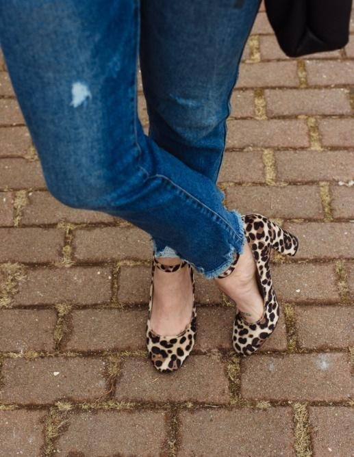 How To Match Animal Print Shoes Jeans