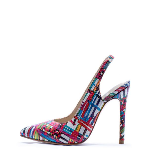 multicolored heels for men and women