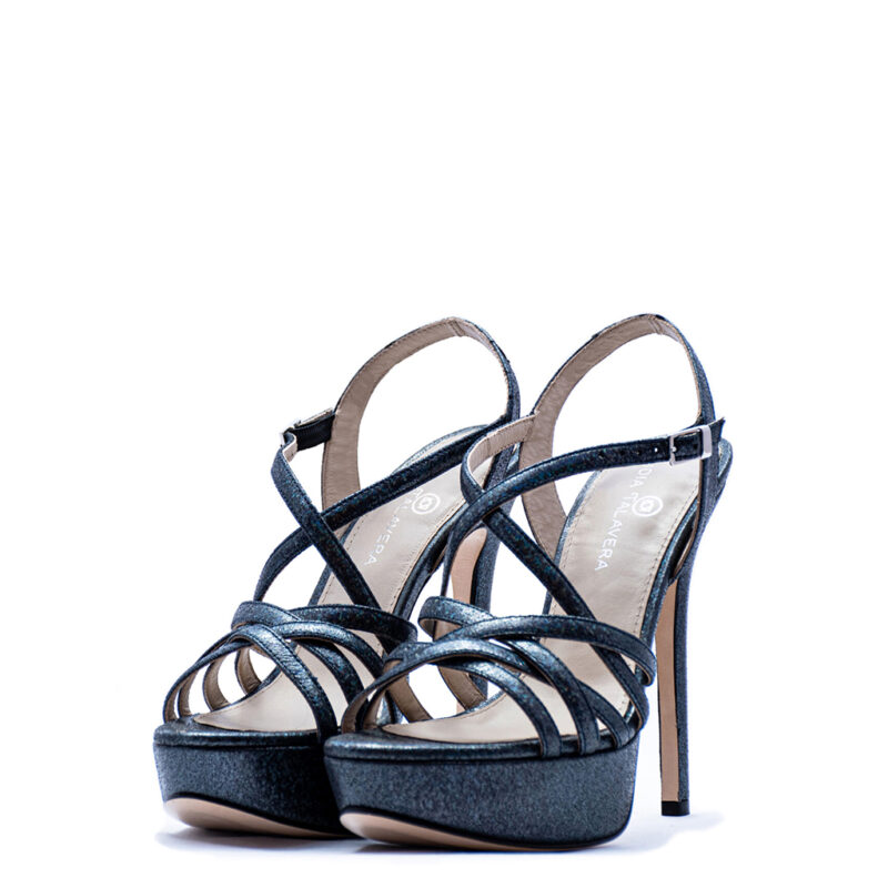Strappy custom made Wedding Shoes