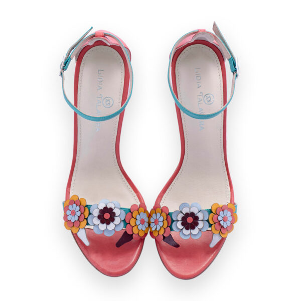 floral heels for men and women