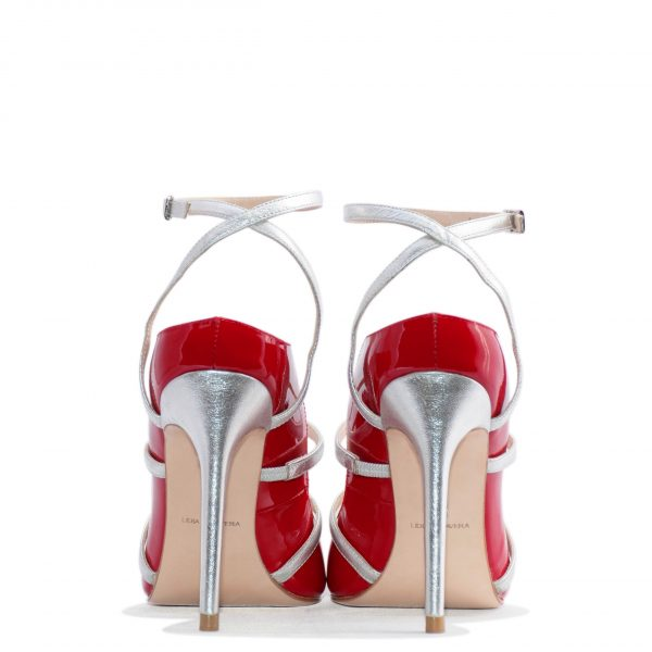 Red Patent high heel for men and women