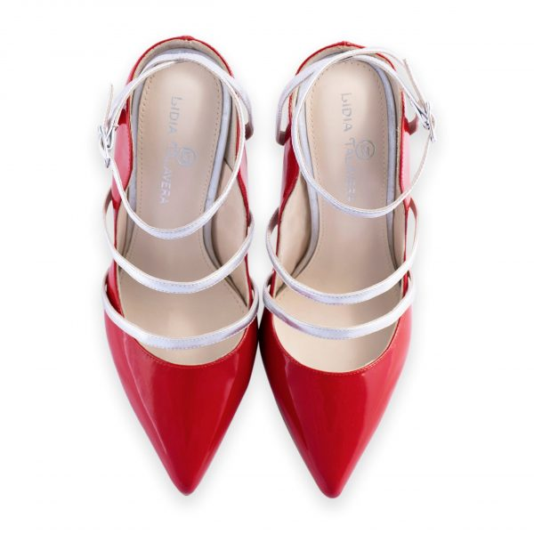 Red Stiletto high heel for men and women