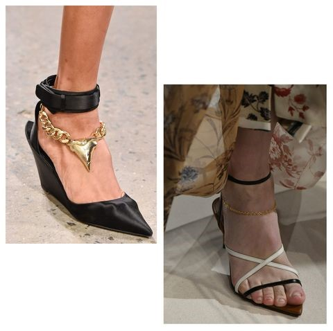 More Shoe Trends For Next Year Chains