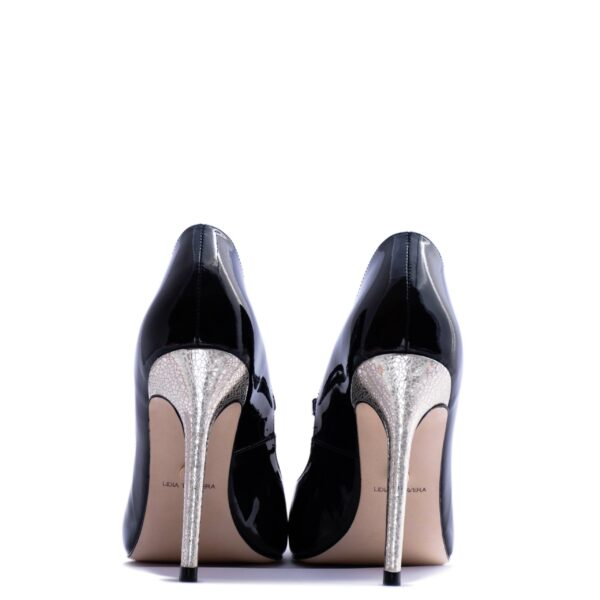 black and silver pumps for men and women