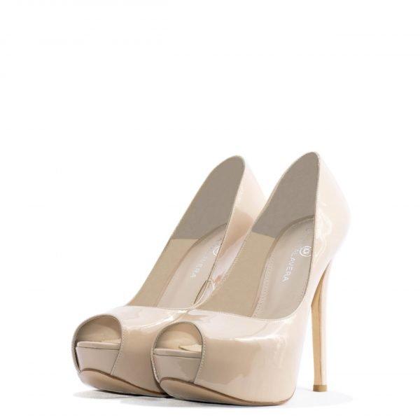 Nude Platform pump high heel for men and women