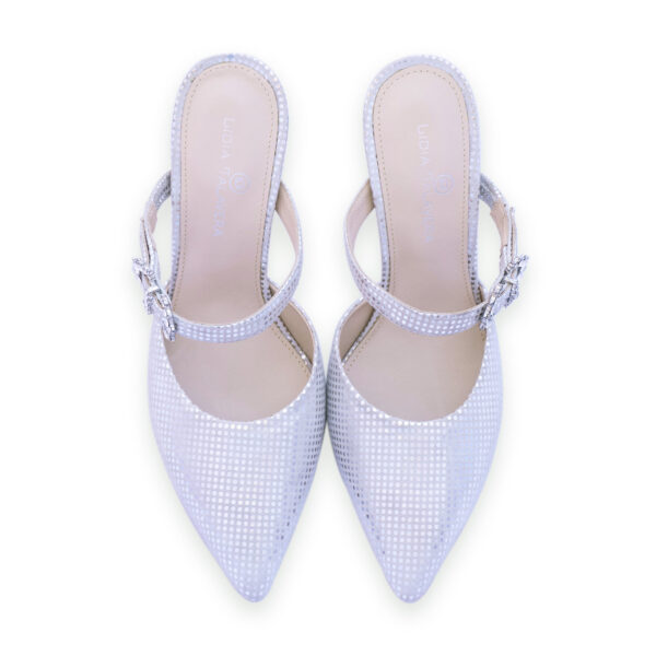 silver pointy toes heels for men and women