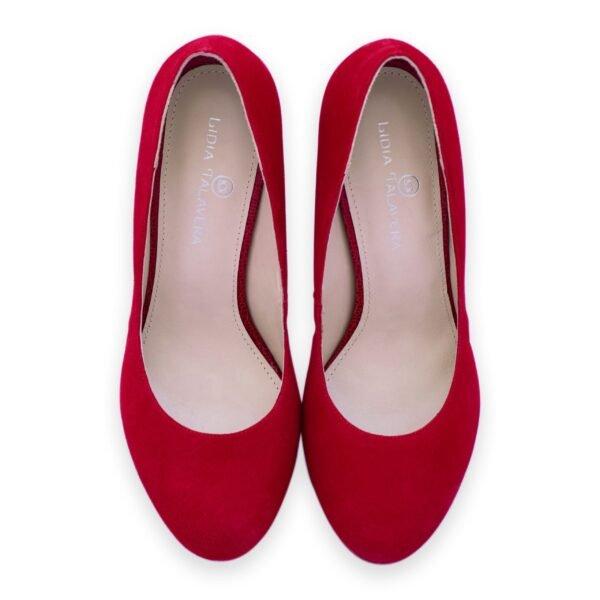 red platform pumps heels for men and women