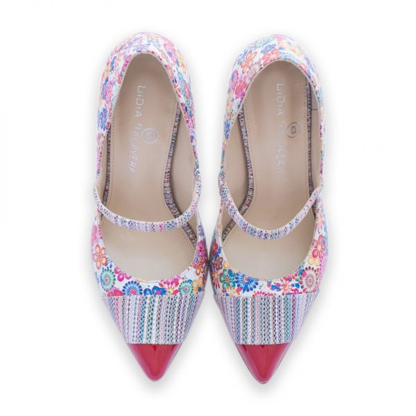 Floral Drag Queen Heels