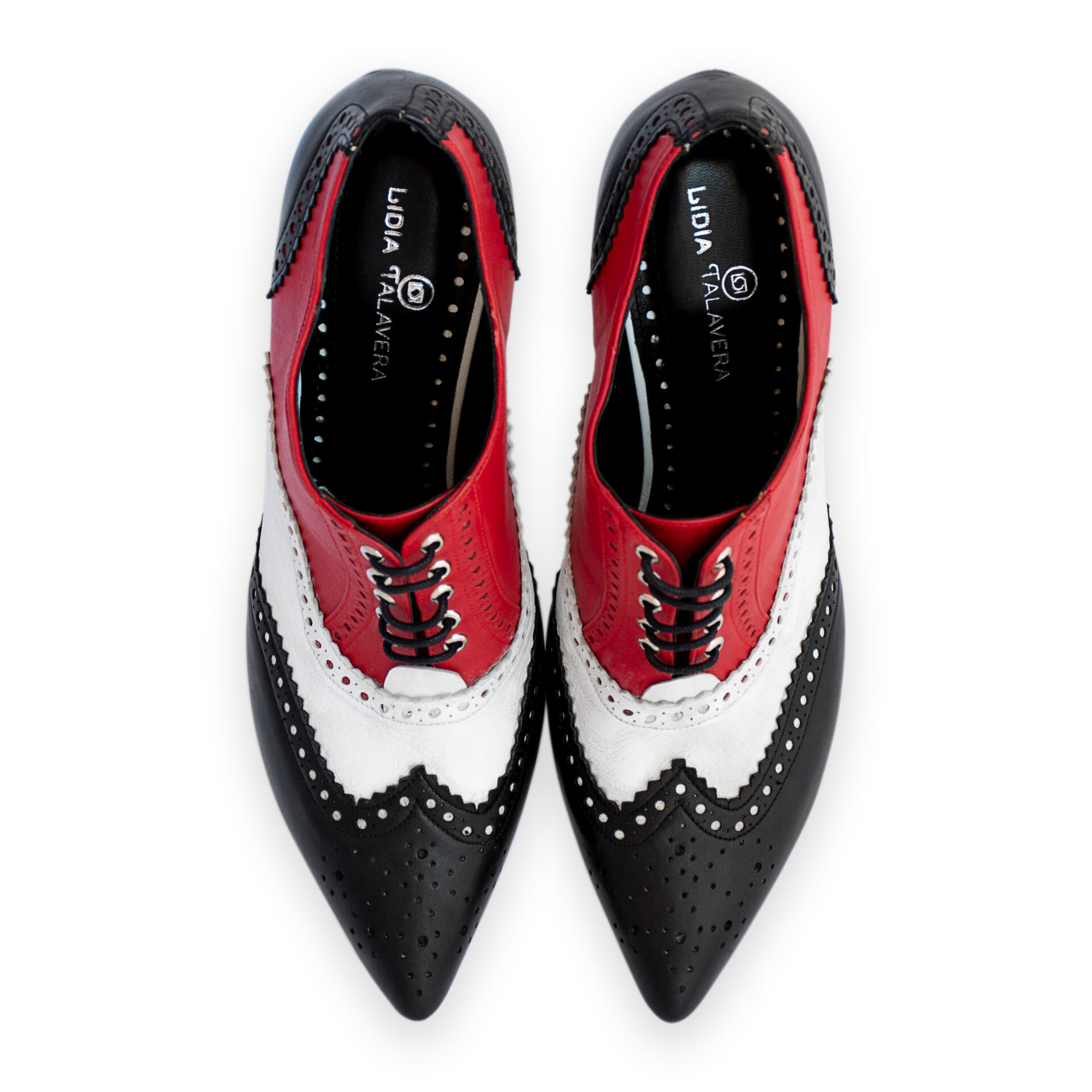 Oxford high heels for men and women