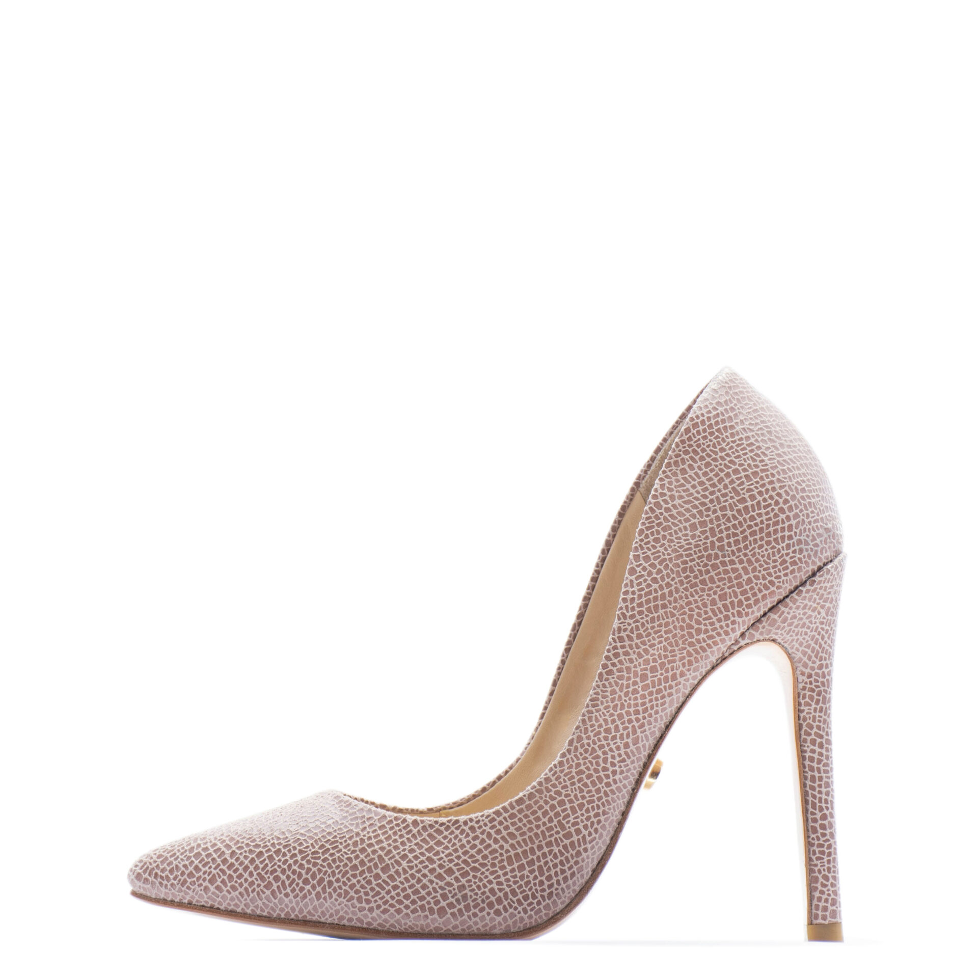 rose nude pointed high heels for men & Women