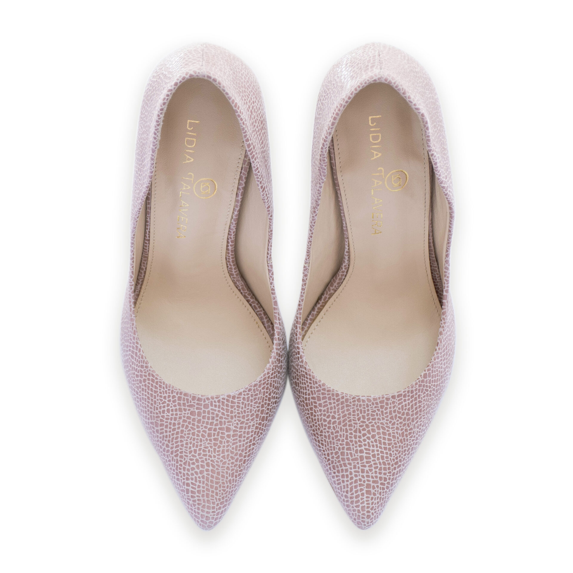 rose nude pointed toe stilettoes